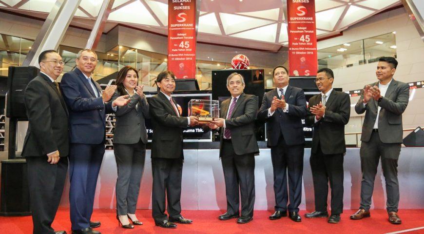 Superkrane IPO in The Indonesia Stock Exchange